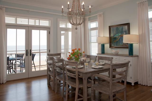 edisto beach house beach style dining room charleston by riverside designers. Black Bedroom Furniture Sets. Home Design Ideas
