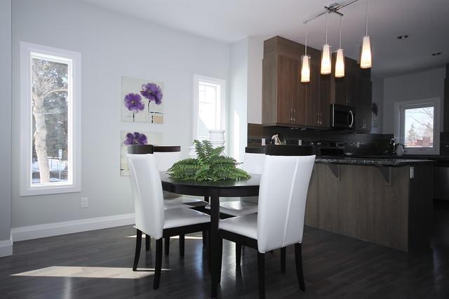 edmonton duplex modern dining room edmonton by serenity