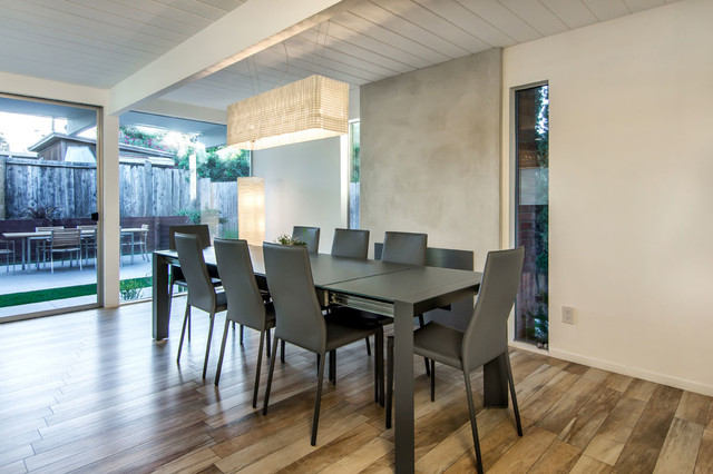 Eichler Renovation modern-dining-room