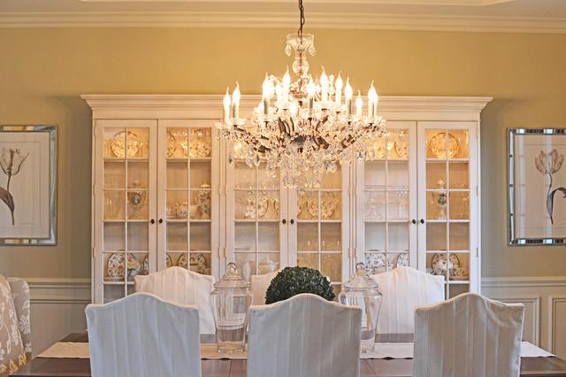 Elegant neutral dining room traditional dining room for Elegant neutral bedrooms