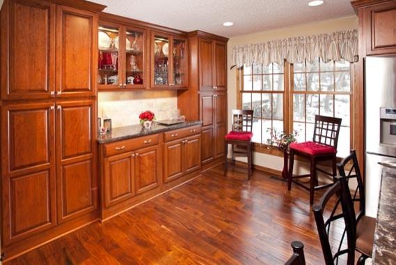 Elegant Bloomington Kitchen Remodel traditional-dining-room