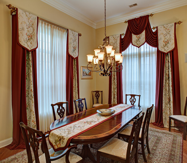 Dining Room Window Valances: Elegant Custom Window Treatments
