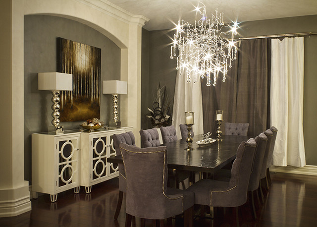Elegant dining room modern dining room toronto by for Fancy home decor