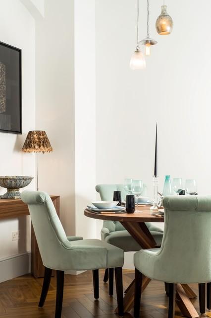 elegant dining room contemporary dining room london