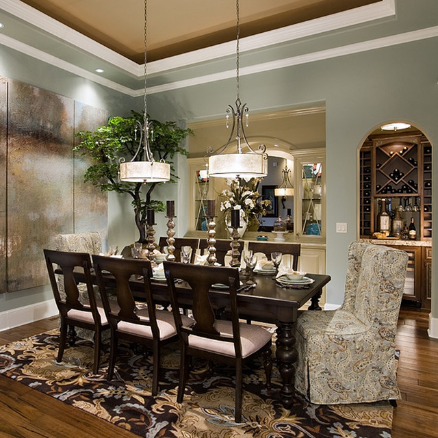 Elegant Dining Room Traditional Dining Room Portland