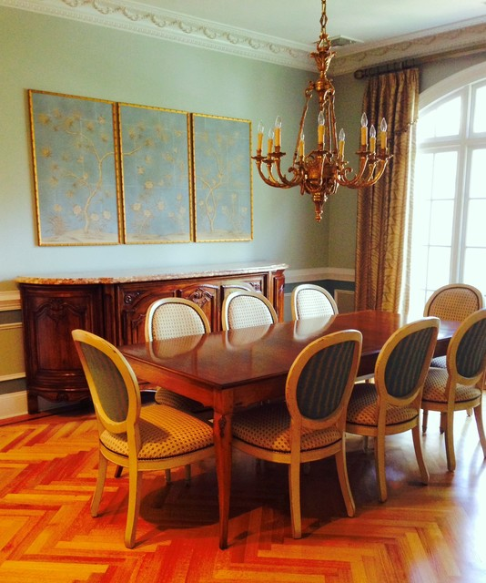 French Style Dining Room: Elegant French Style Dining Room In Savannah