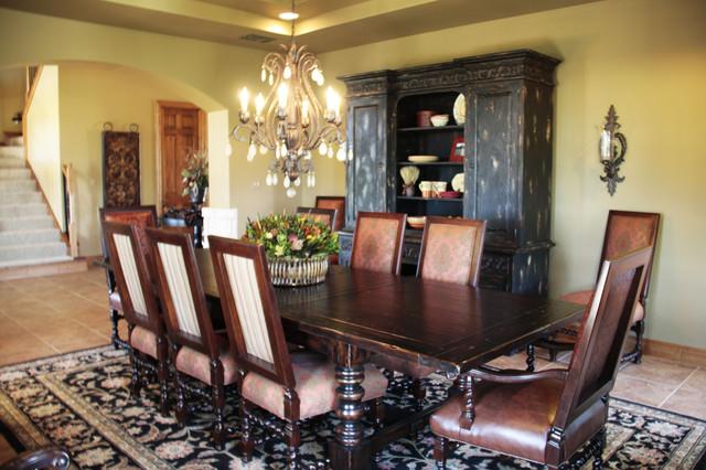 Elegant Old World Dining Room Mediterranean Dining