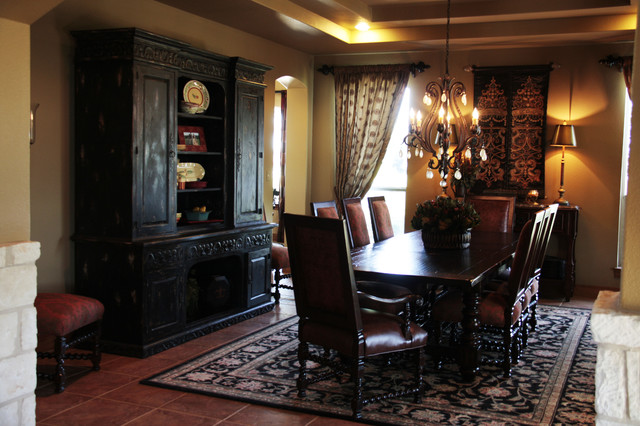 Elegant Old World Dining Room Mediterranean Dining Room Austin By Rene Vinson Interiors Houzz Nz
