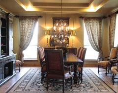 Elegant old world dining room mediterranean-dining-room