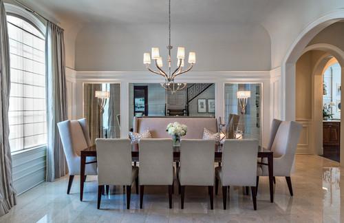 Elegant Reflective Dining