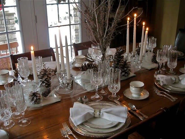 elegant tablescapes dining room