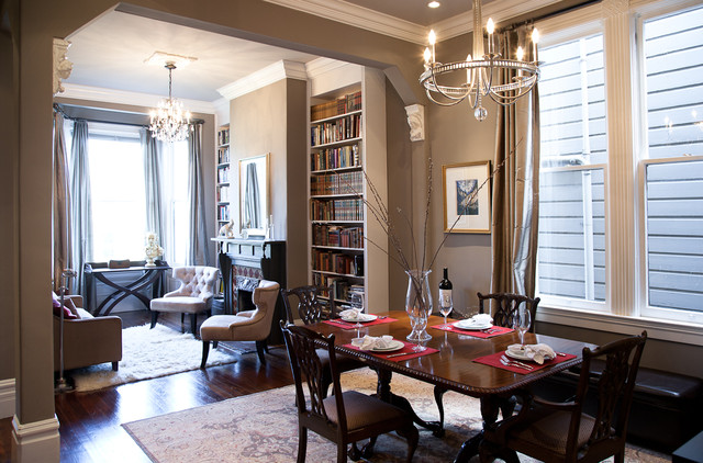 Traditional Dining Room By Architect Mason Kirby Inc
