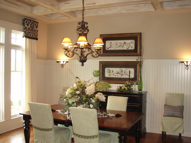Elgin showcase home traditional dining room chicago for Dining room showcase