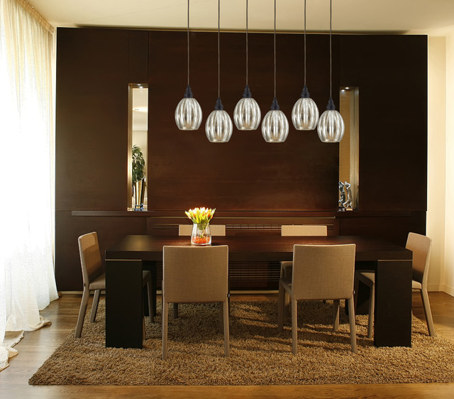 Elk Lighting HGTV Collaboration Contemporary Dining Room