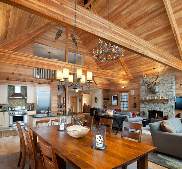 Elk Mountain House - Rustic - Dining Room - Philadelphia ... on mountain contemporary bedroom, monticello bedroom, salmon bedroom, london bedroom, murphy bedroom, lexington bedroom, harrison bedroom, pendleton bedroom, walnut bedroom, rustic bedroom, modern luxury bedroom, mexico bedroom, forest inspired bedroom, cabin bedroom, mount vernon bedroom, paris bedroom,