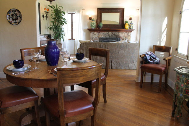 Elm Ave. eclectic-dining-room