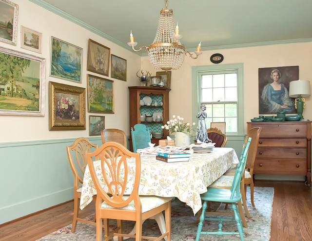 Enchanted Storybook Eclectic Dining Room