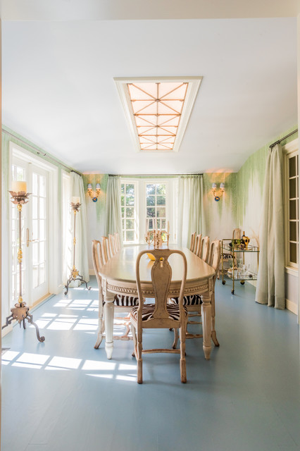 English Country Dining Room Addition   Dining Room   Boston ...