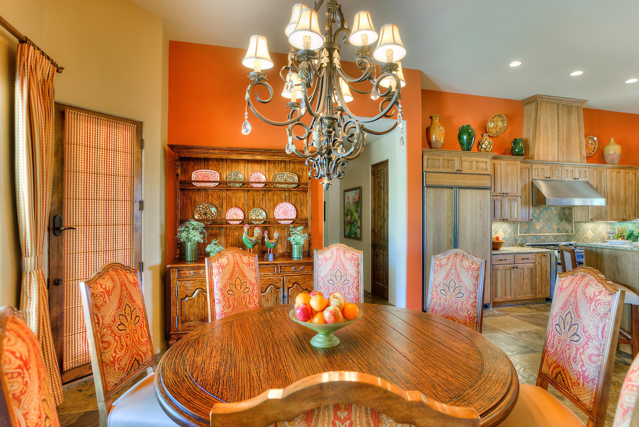 English Desert Home - Great Room