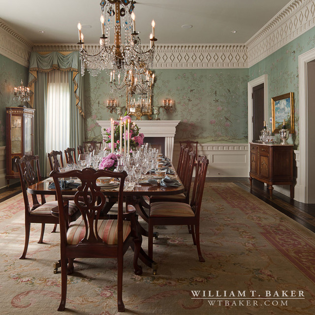 Charming English Manor House 2 Traditional Dining Room