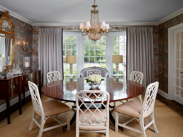 Awesome English Manor Renovation Traditional Dining Room Chicago