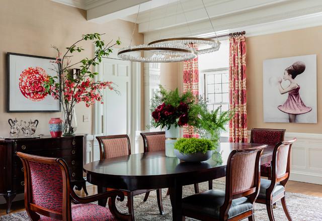 English Tudor Traditional Dining Room Boston By Leblanc Design