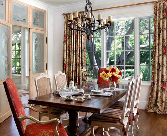 English Tudor Traditional Dining Room San Francisco