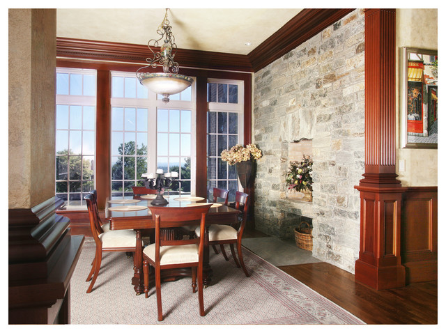 New English Tudor Home - W. Hartford, CT traditional-dining-room