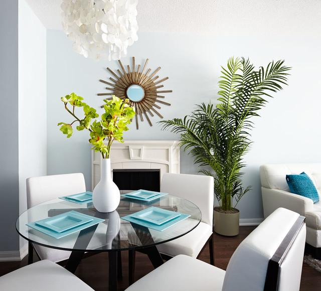 Esam suite calgary modern dining room calgary by for Modern dining chairs calgary
