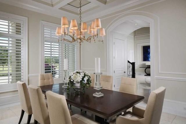 Estuary Residence contemporary-dining-room