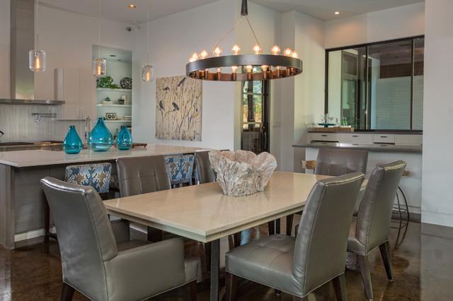 Ethridge  | New Construction contemporary-dining-room