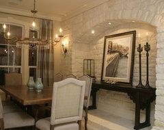European Elegance with an Urban Twist dining-room