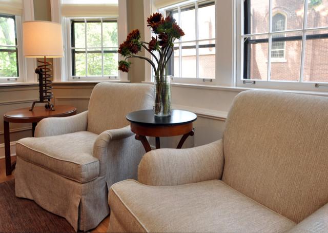 Evanston Vintage Condo traditional-dining-room