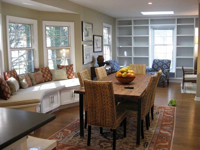Evergreen Residence transitional-dining-room