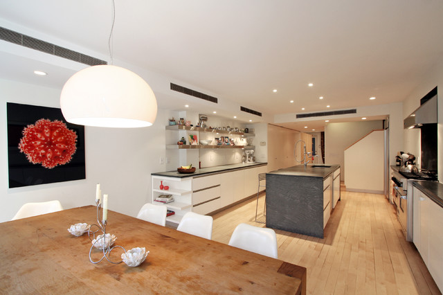 Ewan Residence kitchen/dining - Contemporary - Dining Room - New ...
