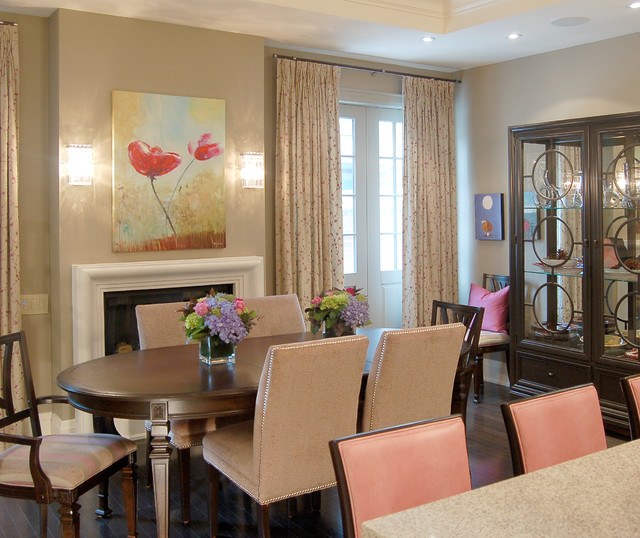 Executive Townhouse Traditional Dining Room Toronto