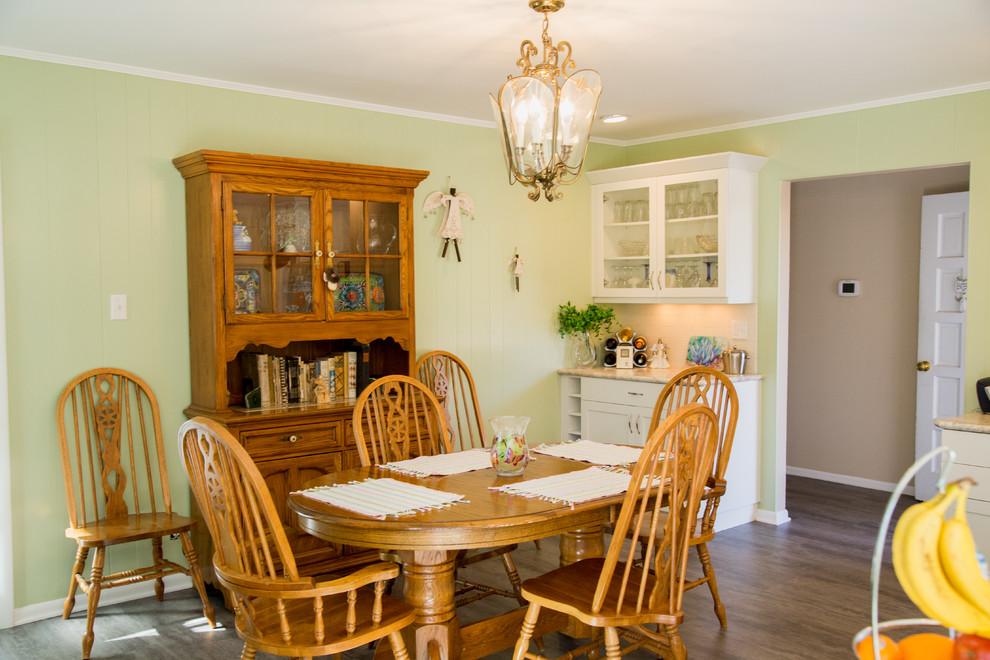 buffet cabinet matching kitchen cabinets - Transitional ...