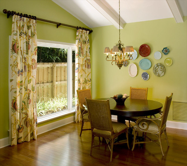 Extensive Home Remodel Tropical Dining Room Miami