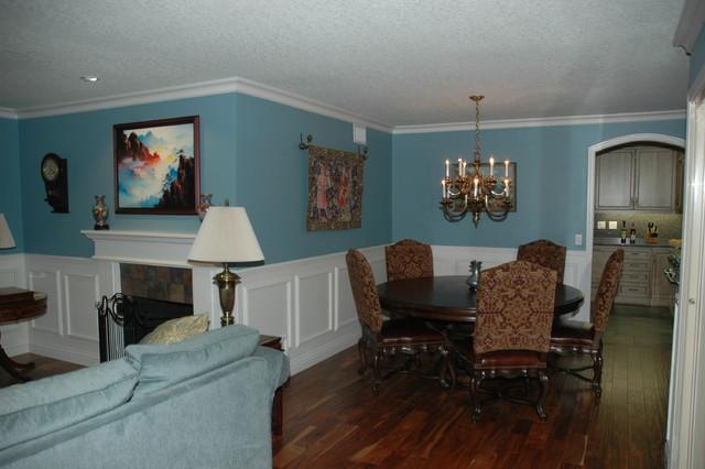 Exterior & Interior Renovation transitional-dining-room