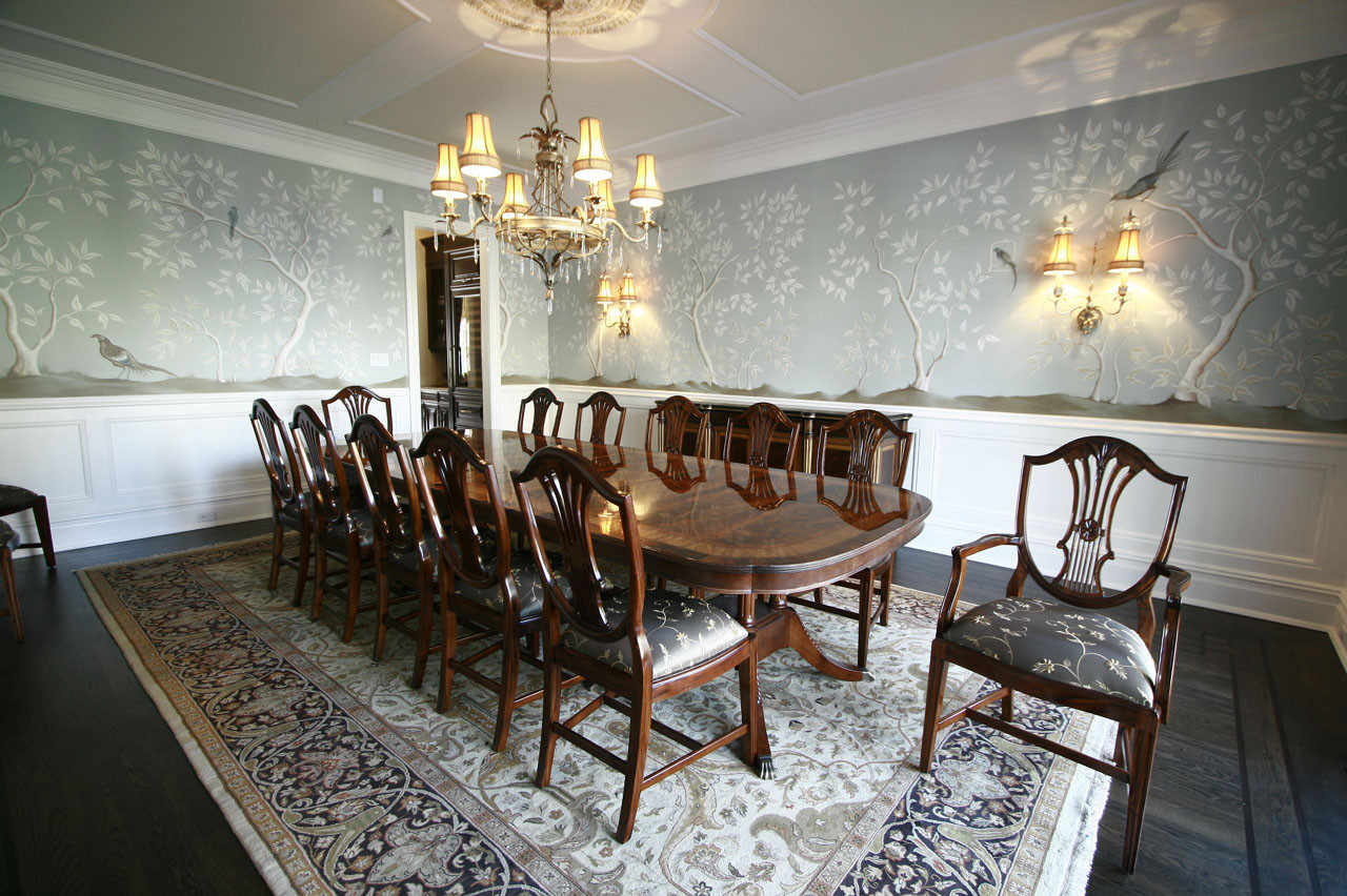 Mahogany Dining Room Table Lh, Extra Large Dining Room Table And Chairs
