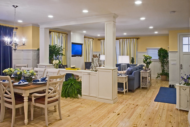 extreme makeover home edition traditional dining room providence by jonathan caron. Black Bedroom Furniture Sets. Home Design Ideas