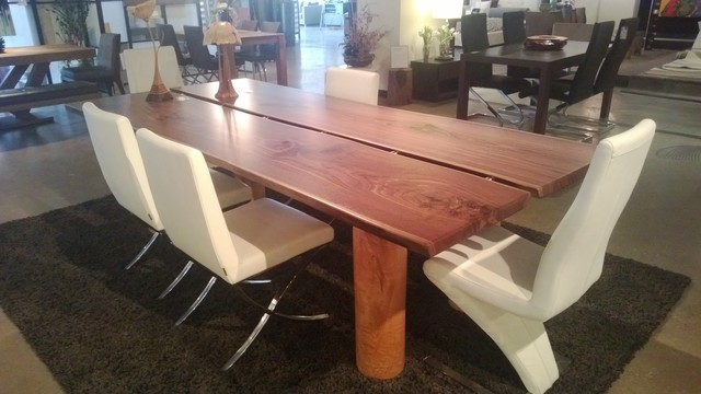 F2 product sampling - craftsman - dining tables - calgary - by F2