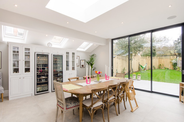 Fabulous Full Renovation Extension Transitional Dining Room London By Ask My Architect Houzz Uk