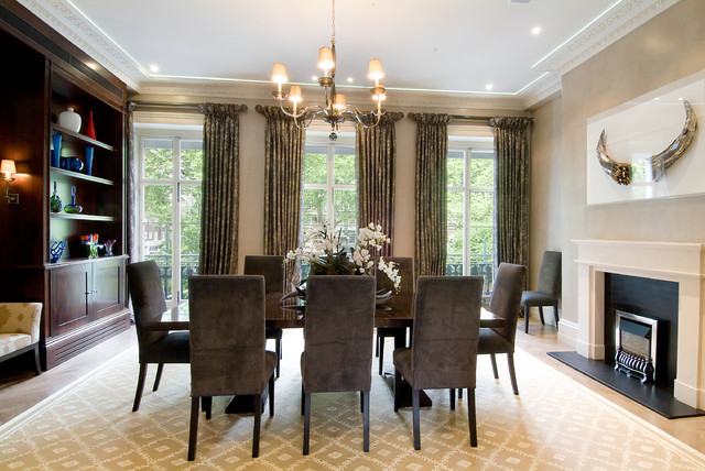 fabulous interior designs llc contemporary dining room other
