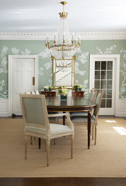 Fairfield County Traditional Dining Room New York By Elena Phillips Interiors