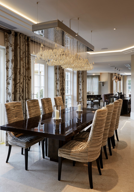 Fairlanes north london contemporary dining room for Interior designers north london