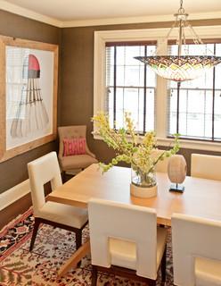 Fairmount House Transitional Dining Room