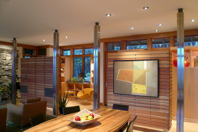 Fairview Residence modern-dining-room
