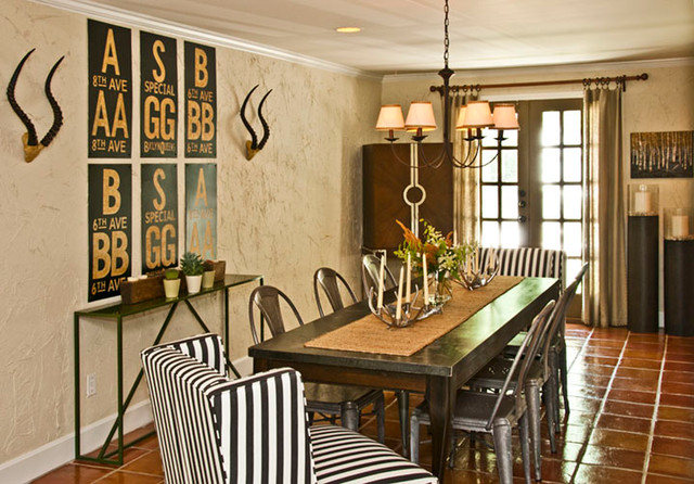 Fairway Home eclectic-dining-room