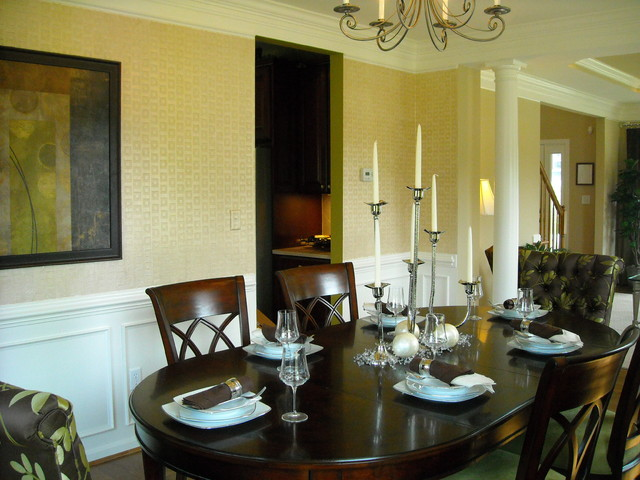 fairway village model home eclectic dining room dc
